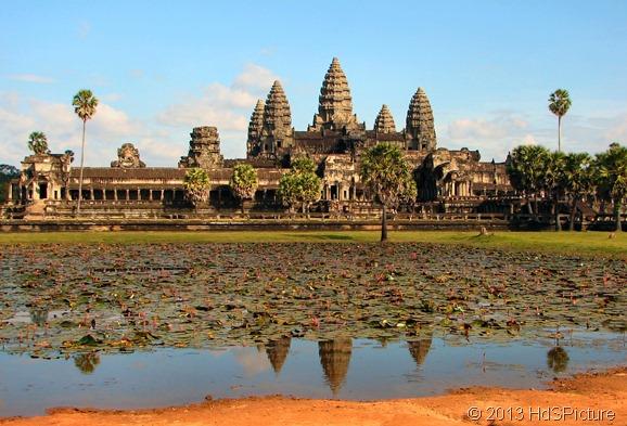 pemandangan Angkor Wat, Kamboja