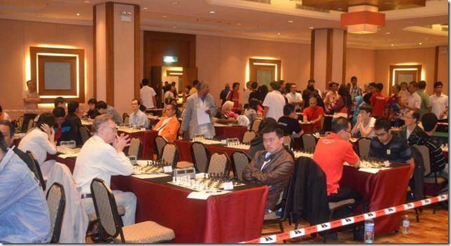 Open participants Malaysia Chess Festival 2013