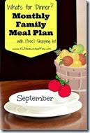 Meal Planner - September