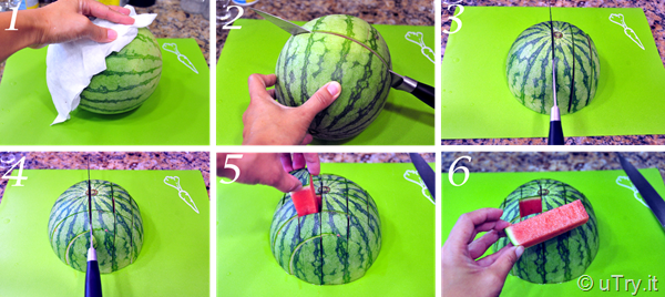 How to Cut a Watermelon, the Right Way   http://uTry.it