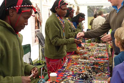 Bushcraft show Maasai