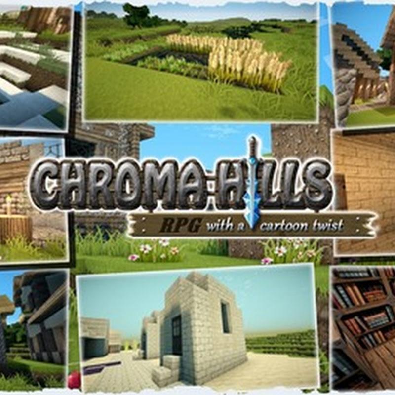 Minecraft 1.5.2 - Chroma Hills Texture pack 128x/32x