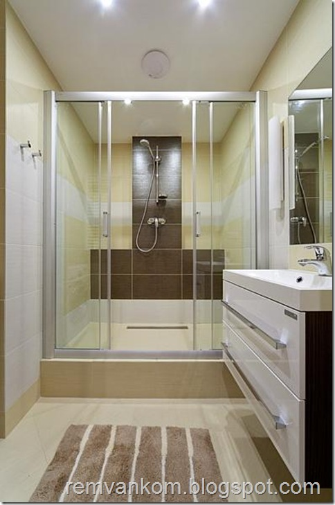 комплесный ремонт ванной комнаты 6