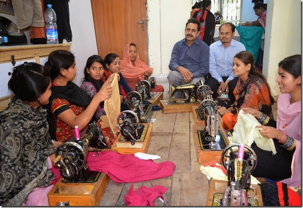 Shamim Masih (right) & Christian Female Trade Craft