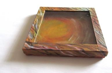 Bemalte Schachtel