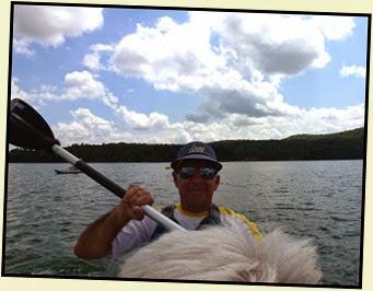 19i - Tuesday - Nottely Lake Kayak - Captain My Captain