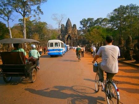 entrada sur de Angkor Thom