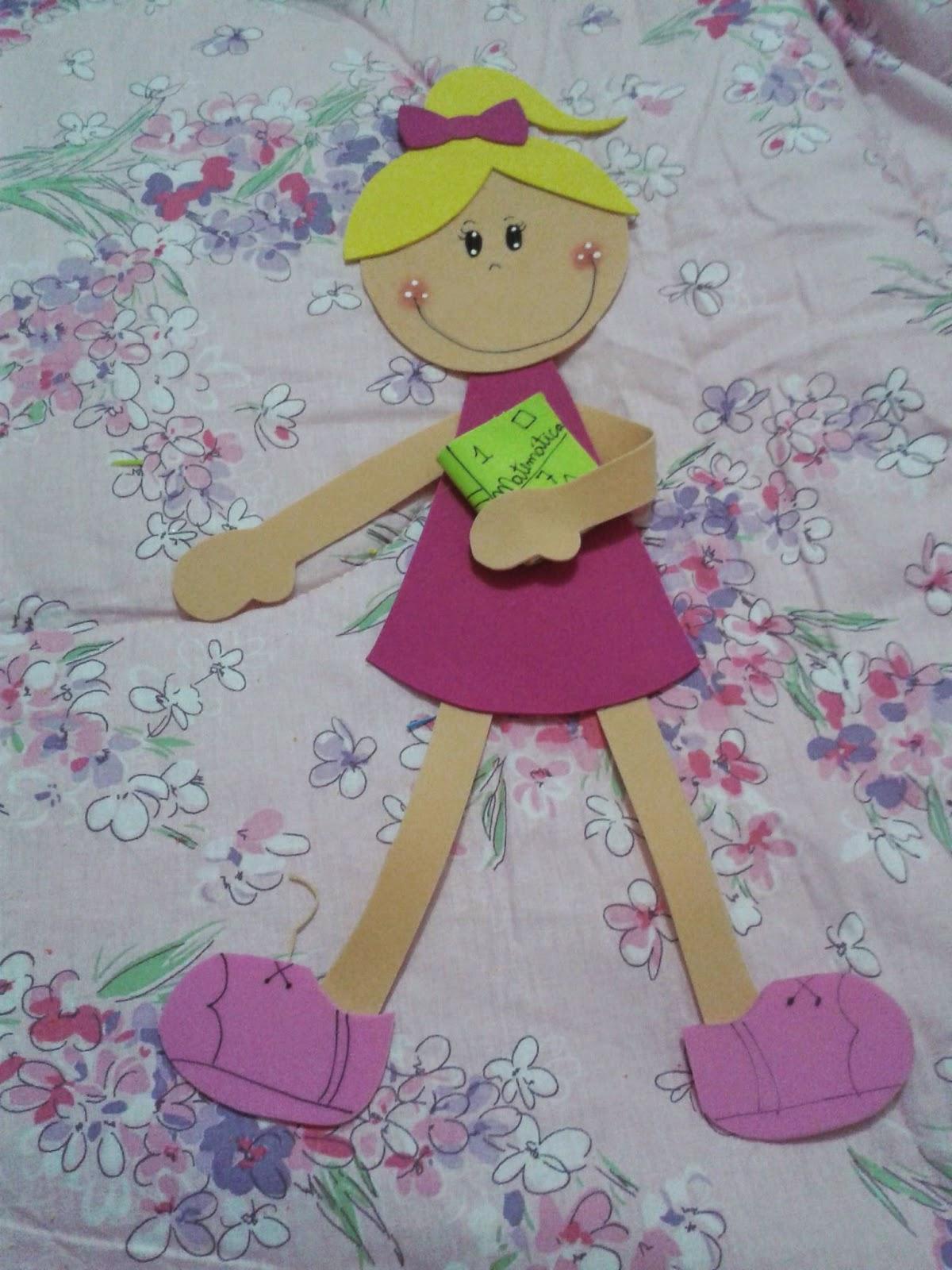Gy farias meus bonecos de eva mural de volta s aulas for Mural de natal 4 ano