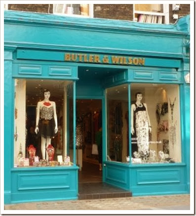 Butler and Wilson Shop in London