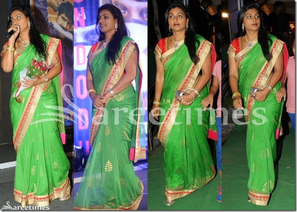 Roja_Green_Net_Saree