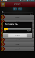 Screenshot of Learn Spanish by Babel Yak
