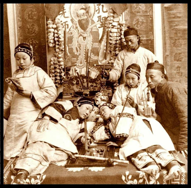 GIRLS WITH BOUND FEET SMOKING DOPE in an OPIUM DEN in CANTON.jpg