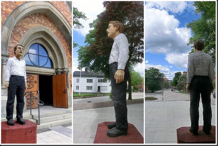 2012-06-02 Skulpturbiennal, Kulturhuset, Bibliotek, GA-kyrkan