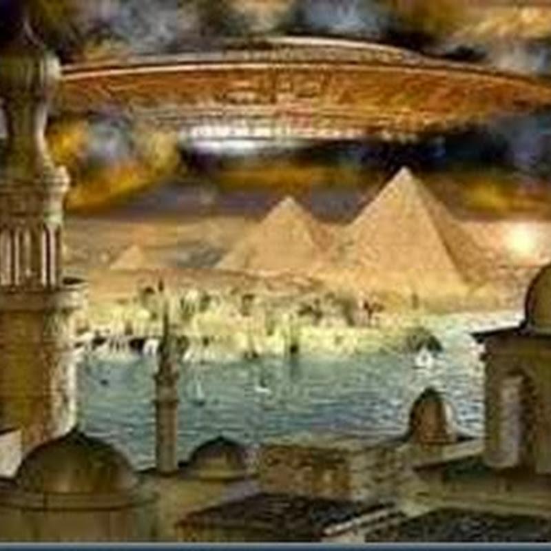 Algo não deste mundo dentro das Pirâmides Egípcias !
