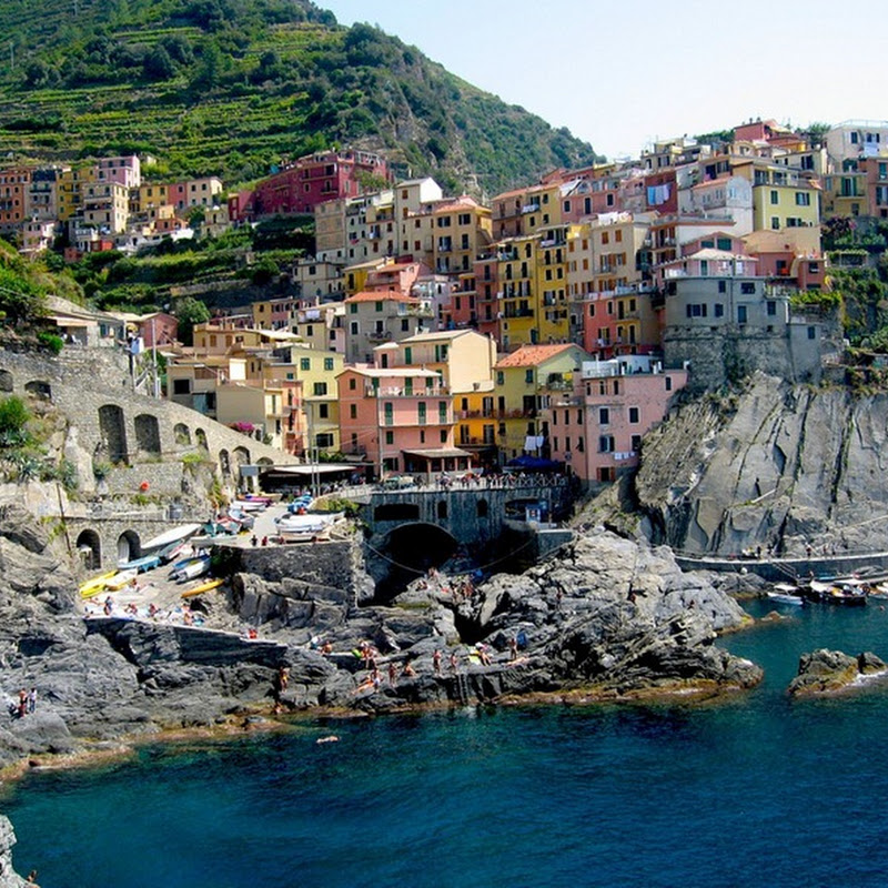 The Colorful Cliff-Side Town of Manarola