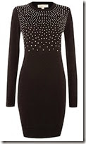 Michael Kors Studded Knit Jumper Dress