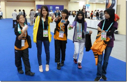 Malaysia's Women's Team in Olympiad, Istanbul, Turkey