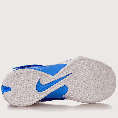 nike zoom soldier 8 gr blue white volt 1 03 Closer Look at Nike Zoom Soldier 8 Blue / Volt Dropping Next Week