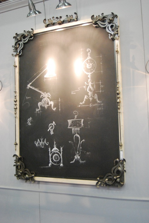 chalk board