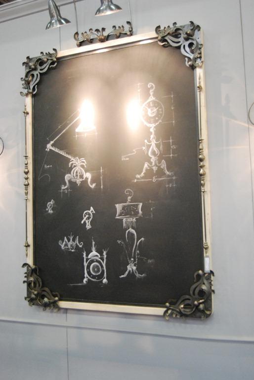 chalk board