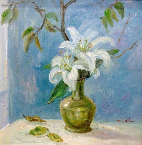 tranh son dau cua hoa si nhuan thuong 3