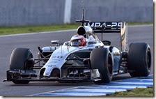 Magnussen nei test di Jerez 2014