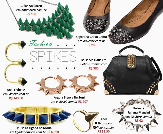 Spikes pulseiras braceletes sapatos e acessorios