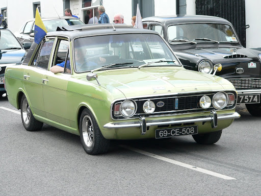 A beautiful 1969 Ford Cortina