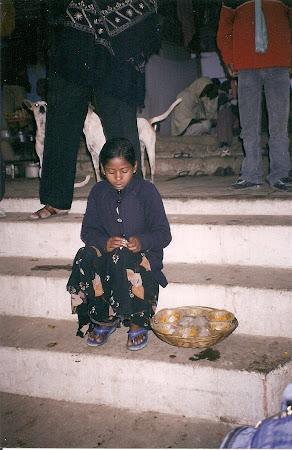 Varanasi: The offerings seller