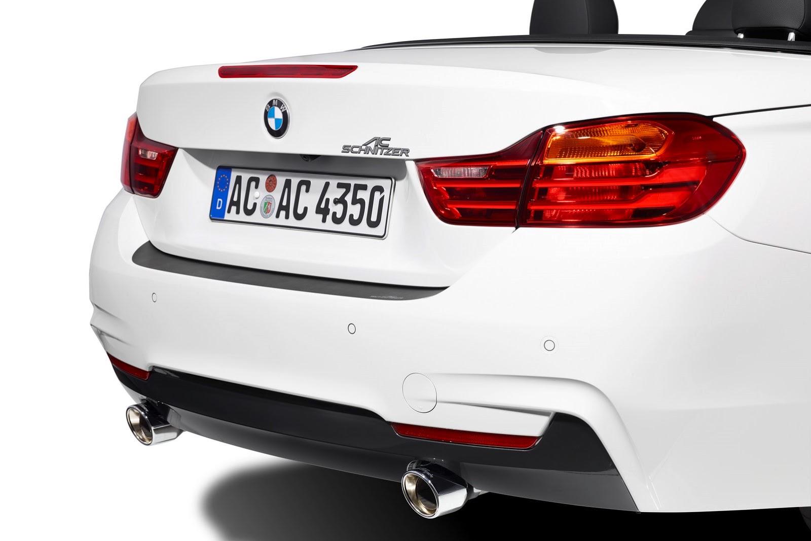Фото | Белая BMW 4-Series Convertible от AC Schnitzer
