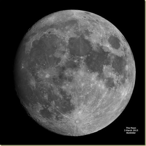 3 March 2015 Moon