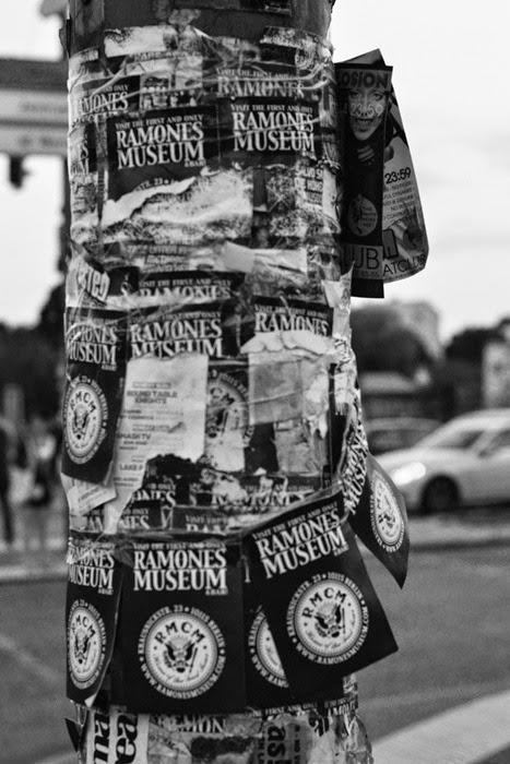 Ramones Museum flyers