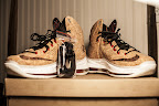 nike lebron 10 gr cork championship 10 02 @KingJames Wears NSWs Nike LeBron X Cork Off the Court
