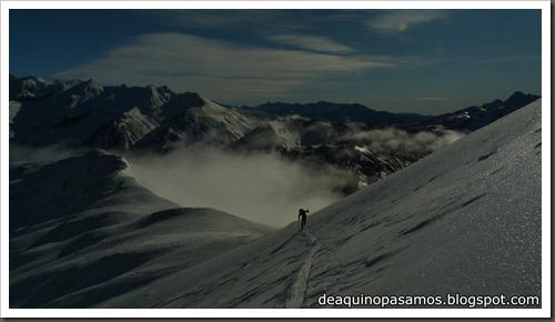 Arista Este al Peyreget 2487m y Corredor Este con esquis (Portalet) (Fede) 0011