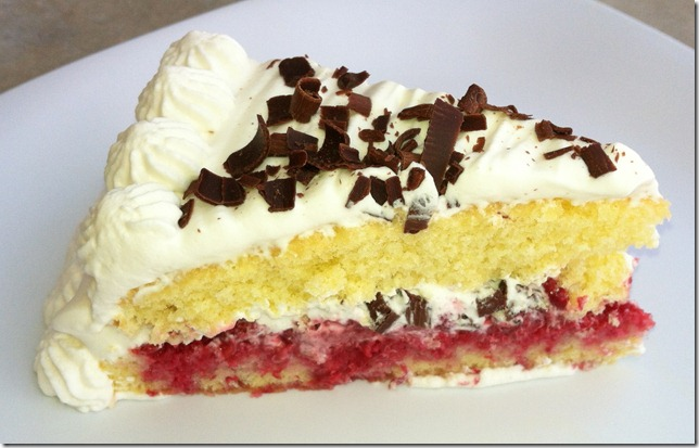 TWD &quot;French&quot; Raspberry Cake (Genoise) 6-18-12