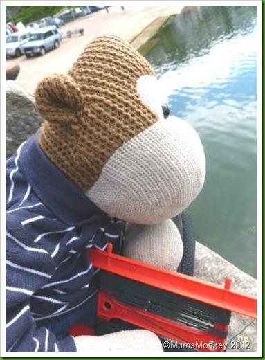 Crabbing Brixham.