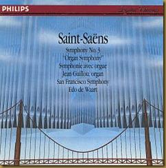 Saint Saens Organo De Waart