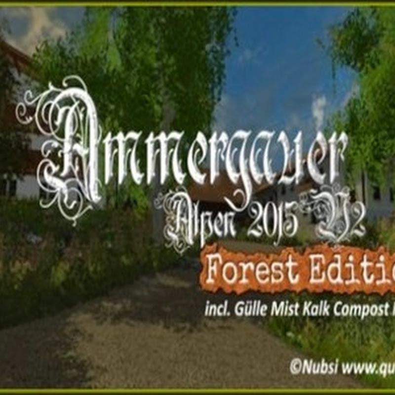 Farming simulator 2015 - Oberammergau Alps v 2.0