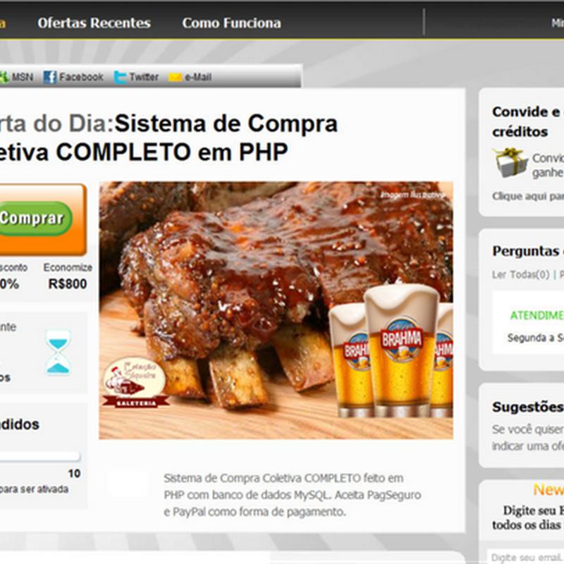 Como ganhar dinheiro com site de Compra Coletiva
