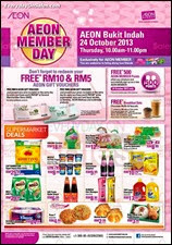 AEON Member Day Bukit Indah 2013 Malaysia Deals Offer Shopping EverydayOnSales