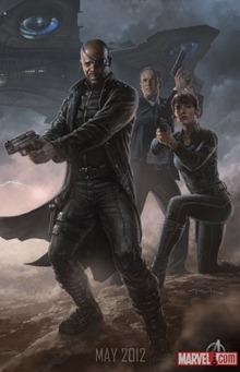 Nick Fury Shield Avengers สรุปข่าวรอบสัปดาห์ ภาพยนตร์ The Avengers [24-July-2011]
