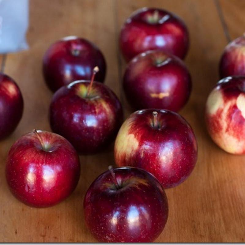 Apple dumplings in peasant purses