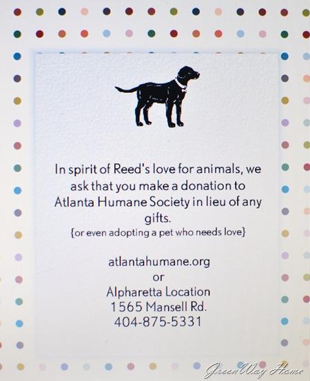 puppy party invite message