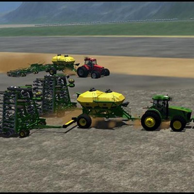 Farming simulator 2011 - John Deere Aircart and Seeder_SndGrdn Edit