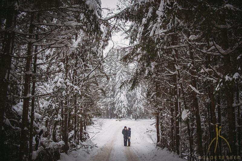 Sipos Szabolcs, Küldetésben, esküvői fotók, jegyesfotózás, riport, életképek, Hargita, Csíkszereda, téli jegyesfotózás