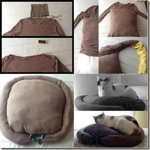 Pasos para hacer una cama para tu mascota con materiales reciclables