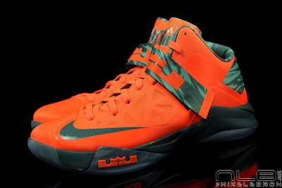 lebrons soldier6 orange camo 38 web black The Showcase: Nike Zoom Soldier VI Orange & Hasta Camo