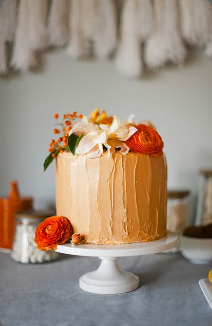 cake thanksgiving wedding, thanksgiving entertaining, studio fleurette  Melissa Oholendt. photo