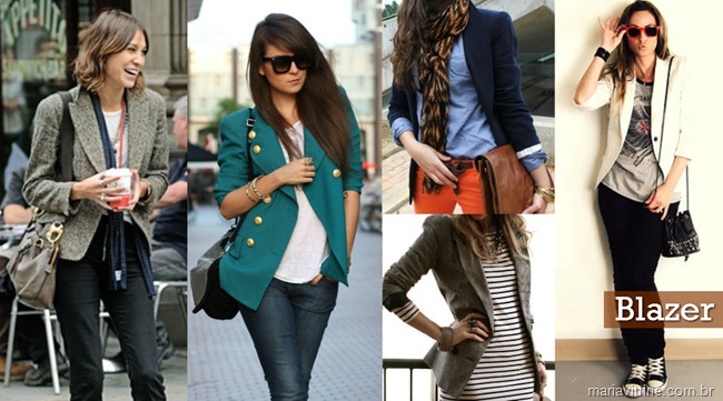 blazer feminino casacos para inverno 2012