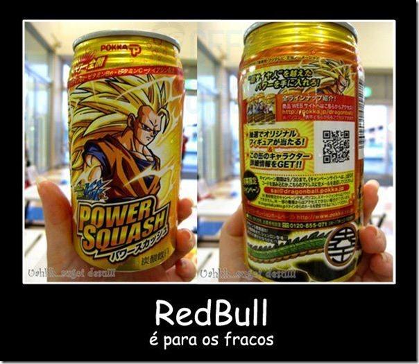 Power Squash - RedBull é para os fracos